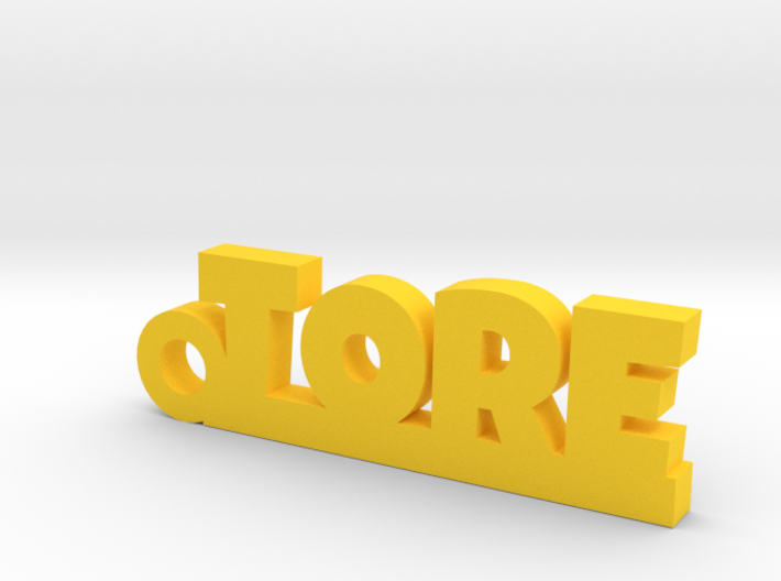 TORE Keychain Lucky 3d printed