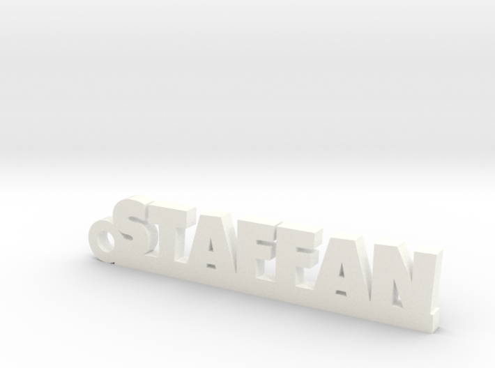 STAFFAN Keychain Lucky 3d printed