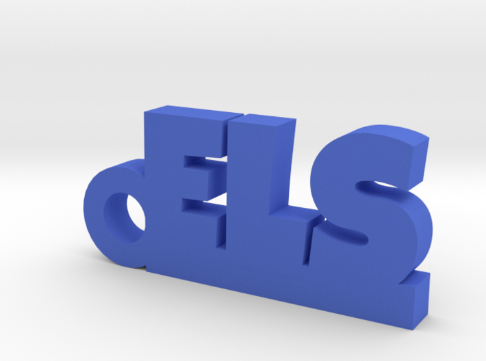 ELS Keychain Lucky 3d printed