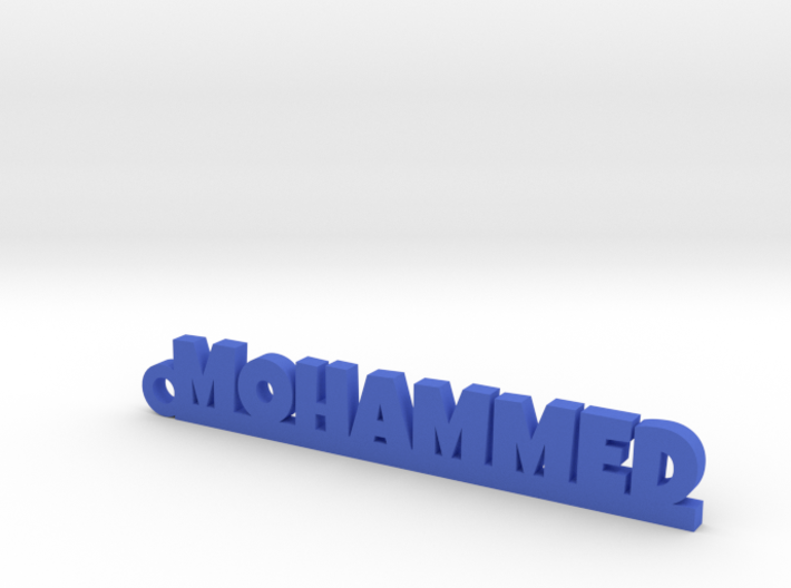 MOHAMMED Keychain Lucky 3d printed