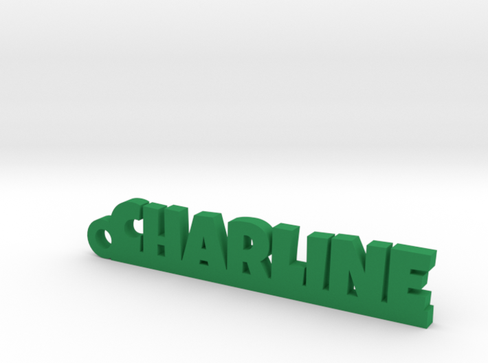 CHARLINE Keychain Lucky 3d printed