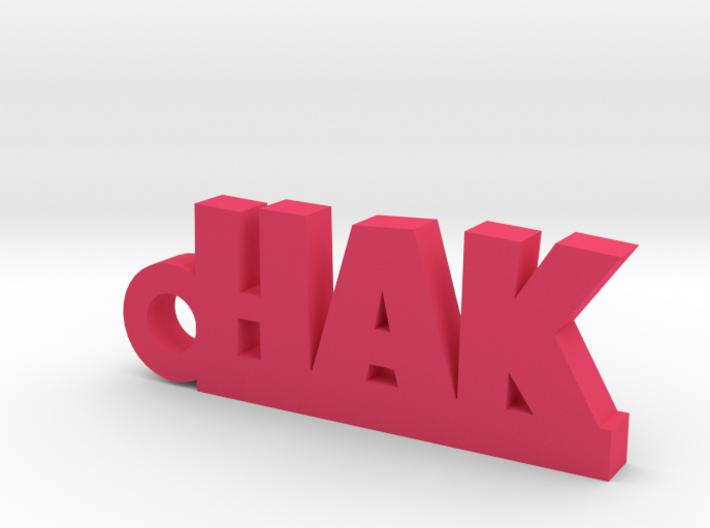 HAK Keychain Lucky 3d printed