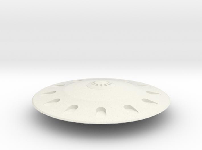 Grey Saucer 3d printed