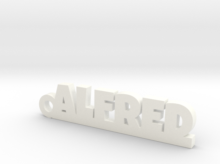ALFRED Keychain Lucky 3d printed