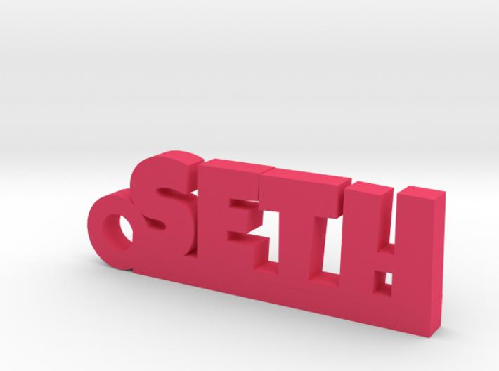 SETH Keychain Lucky 3d printed