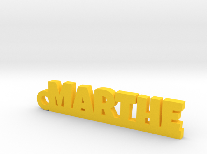 MARTHE Keychain Lucky 3d printed