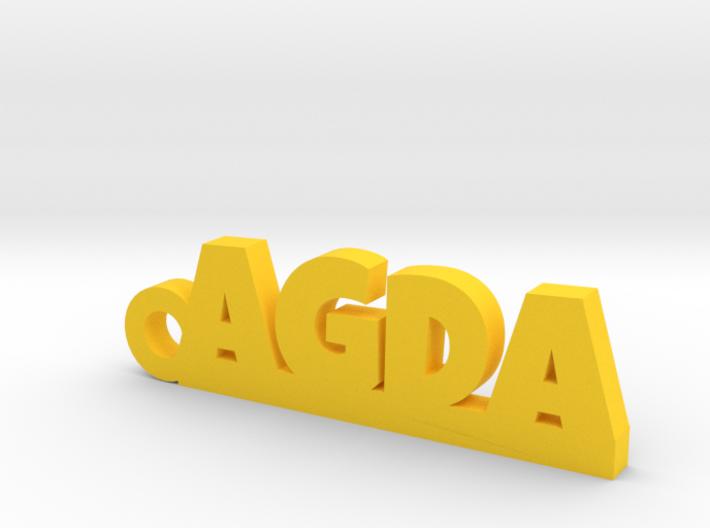 AGDA Keychain Lucky 3d printed