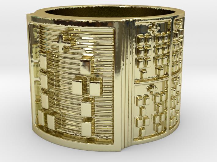 OTURAOGUNDA Ring Size 13.5 3d printed