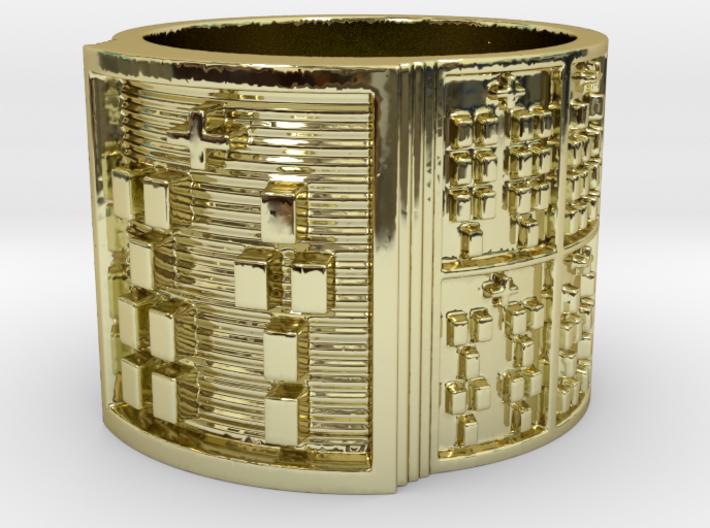 OTURAKA Ring Size 14 3d printed