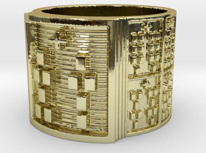 OTURASHE Ring Size 14 3d printed