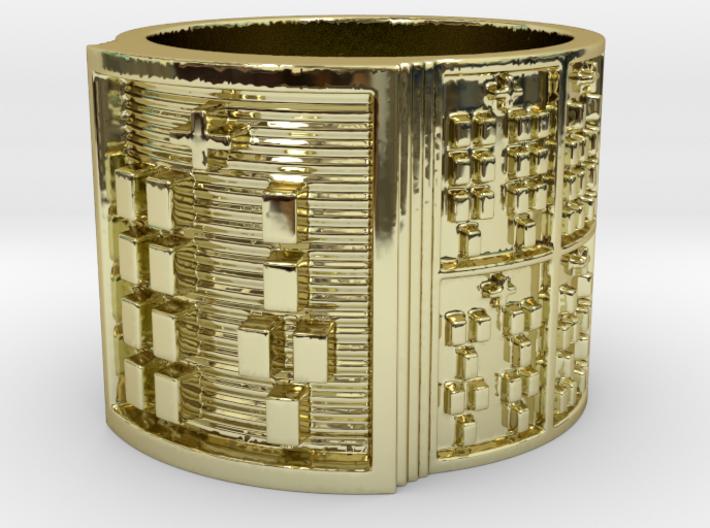 IRETEOYEKUN Ring Size 13.5 3d printed