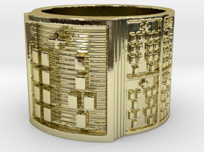 IRETEOYEKUN Ring Size 14 3d printed