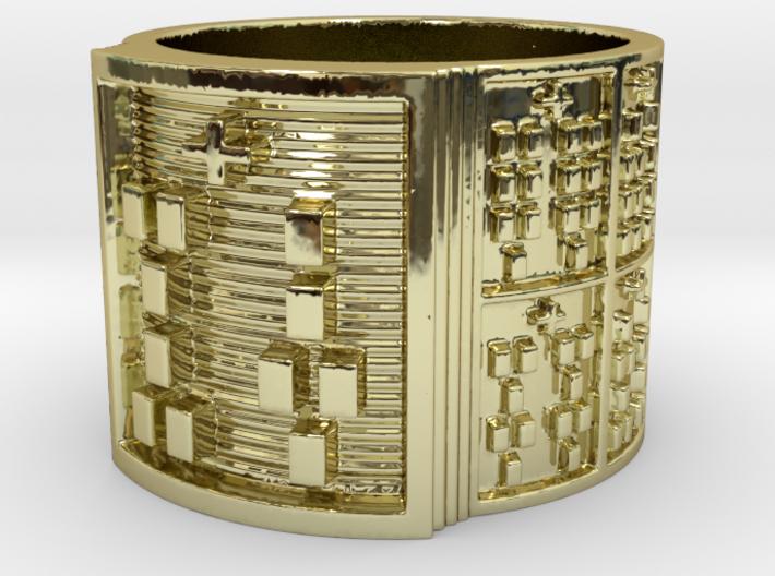 IRETEYERO Ring Size 14 3d printed