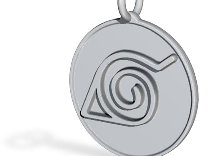 Naruto Konoha pendant 3d printed