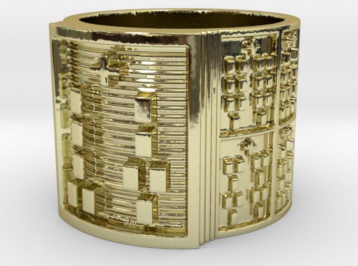 IRETEKUTAN Ring Size 11-13 3d printed