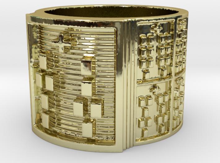 IRETESUKA Ring Size 14 3d printed