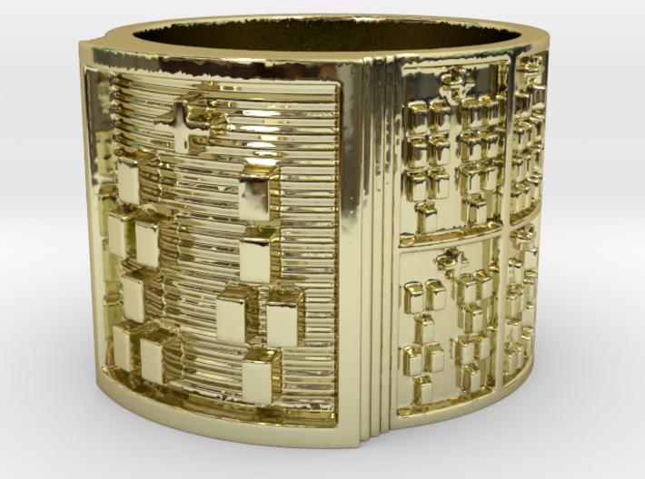 IRETEUNFA Ring Size 13.5 3d printed