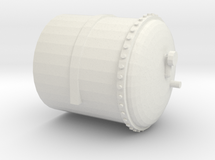 Part 1- Gas Tank (Left hand end with gauge) 3d printed
