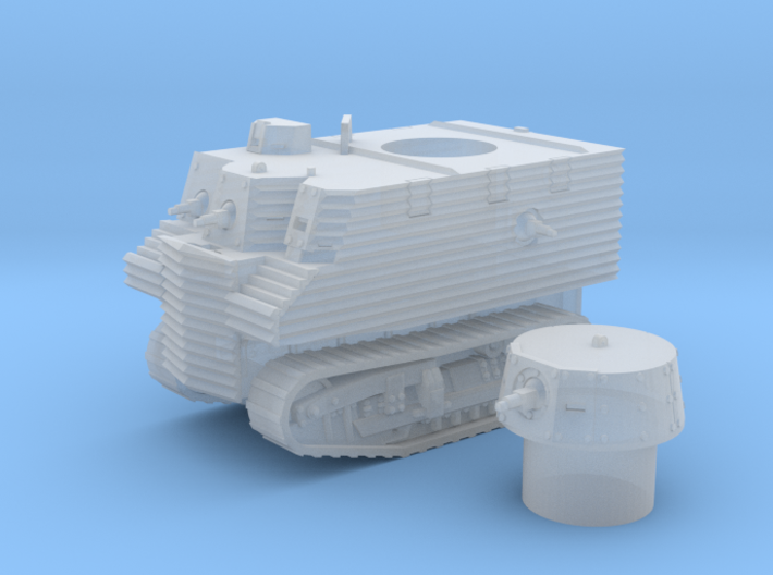 Bob Semple tank (New Zealand) 1/200 3d printed