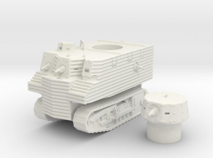 Bob Semple tank (New Zealand) 1/87 3d printed