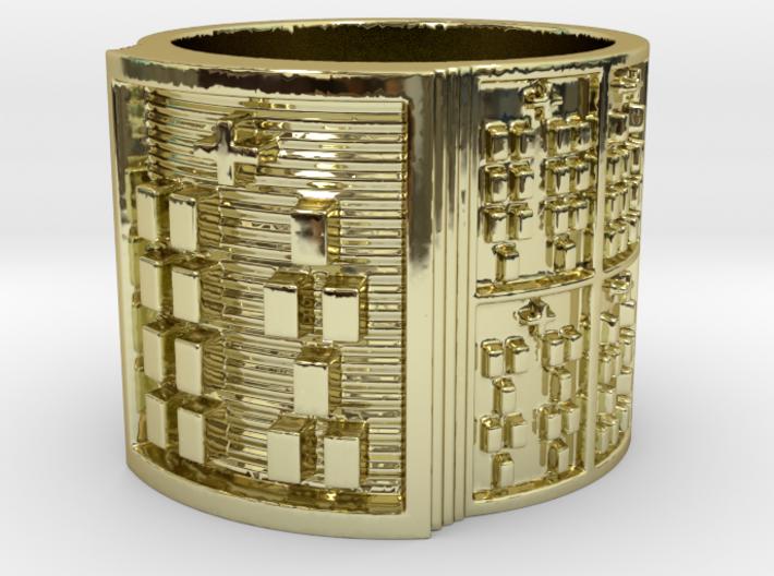OSHEYEKUN Ring Size 11-13 3d printed