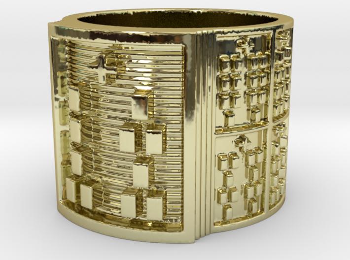 OSHEOMOLU Ring Size 11-13 3d printed