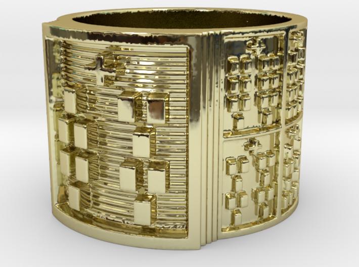 OFUNDI Ring Size 14 3d printed