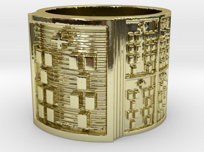 OFUNKAMALA Ring Size 11-13 3d printed