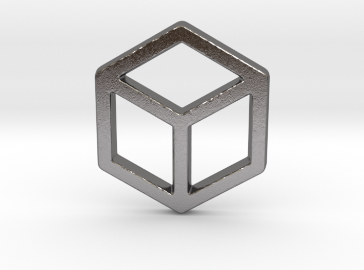 2d Cube 3d printed
