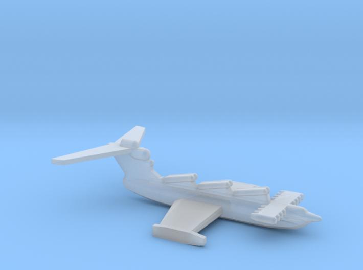 Lun-class ekranoplan, 1/1800 3d printed
