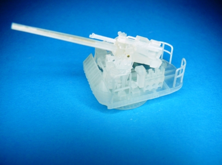 """5"""" 38 Cal Open mount with fuse setter 1/87 3d printed"""