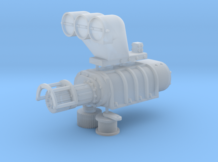 14-71 1/25 Blower Connected 3d printed
