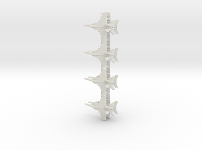 1/700 EA-18G Growler (x8) 3d printed