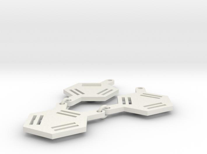 Ortho- Meta- Para- 3d printed