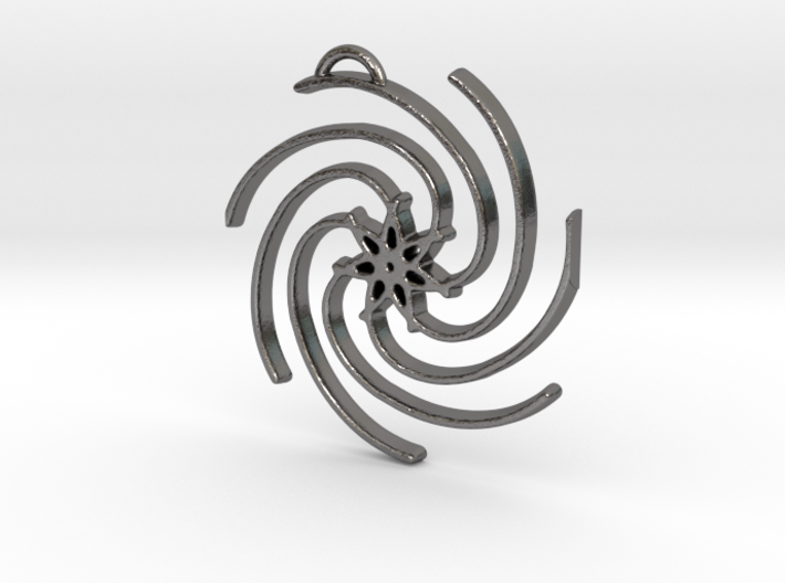 Seven Lines III - Spiral Star 3d printed