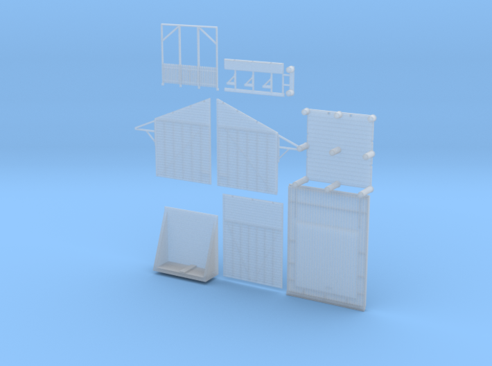10' X 10' Shelter Shed Variation 1 (Type 2) 3d printed