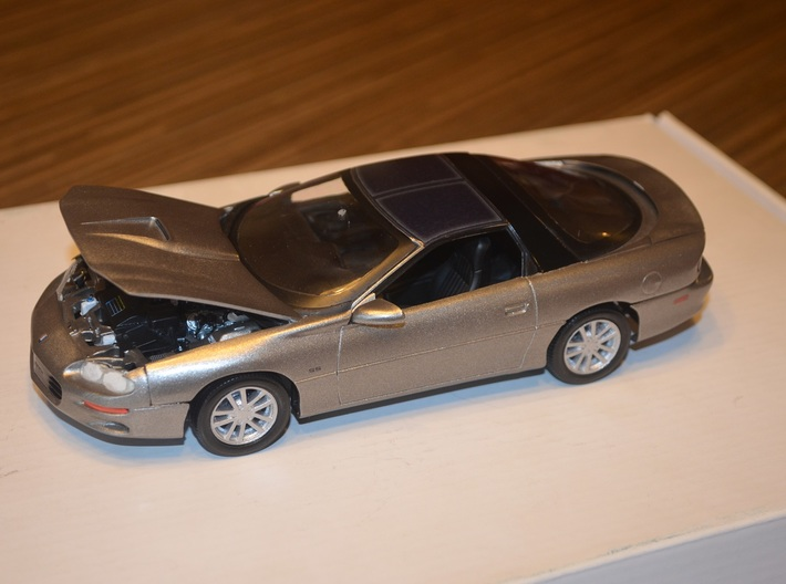 1/25 Scale Monogram/Revell 2002 SS Camaro Ten Spok 3d printed After