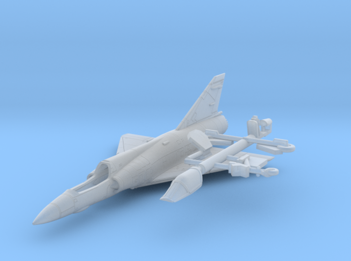 020N Mirage IIIO Kit 1/200 3d printed