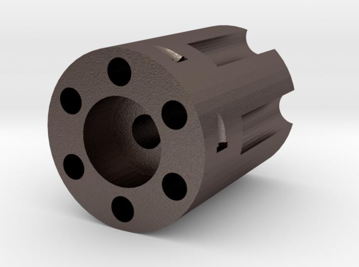 Revolver Bead 3d printed