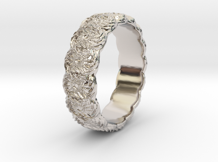 Daisy - Ring 3d printed
