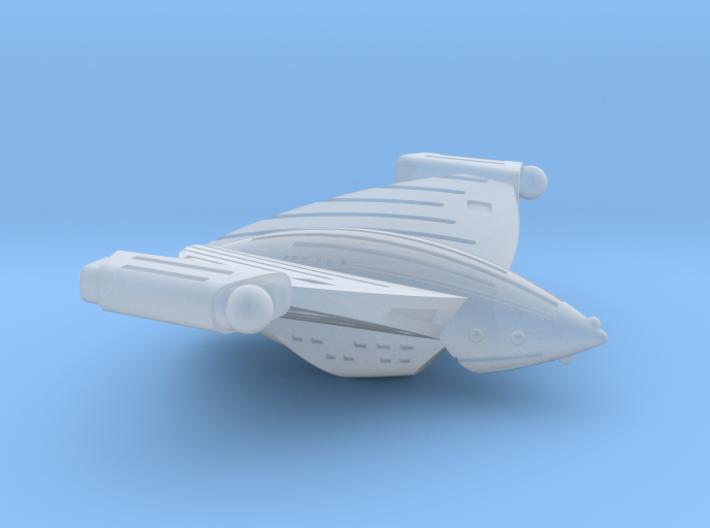 Detroitan Tempest Class Tactical Cruiser-1:7000 3d printed