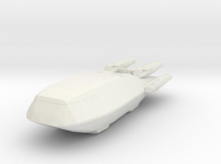 Shuttle (Battlestar Galactica TRS), 1/270 3d printed