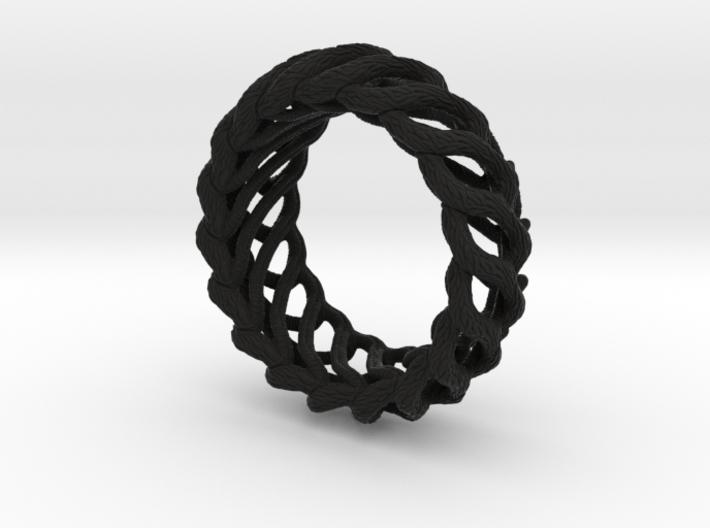 AlienBracelet I 3d printed