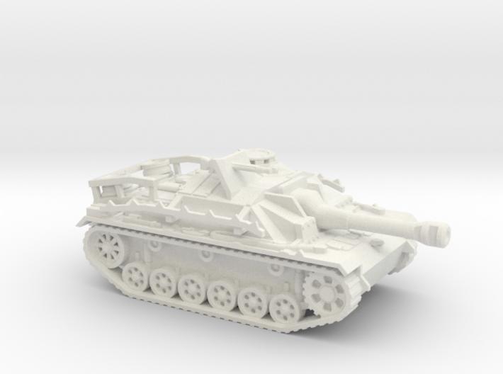 Sturmgeschutz III tank (Germany) 1/87 3d printed