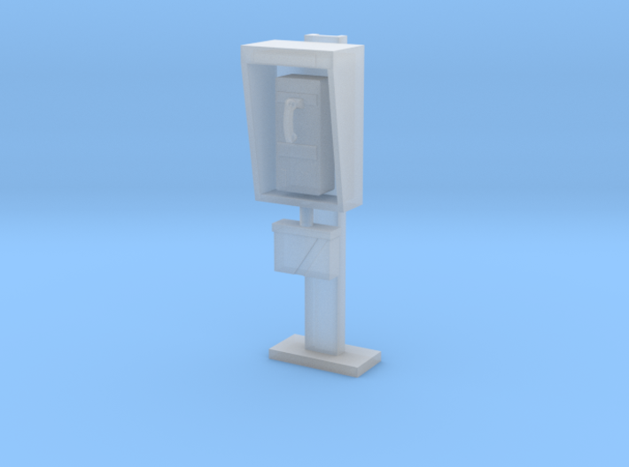 Phone Booth in 1:35 scale 3d printed