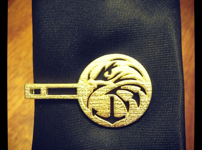 NAVY SEAL FOUNDATION MONEY/TIE CLIP 3d printed