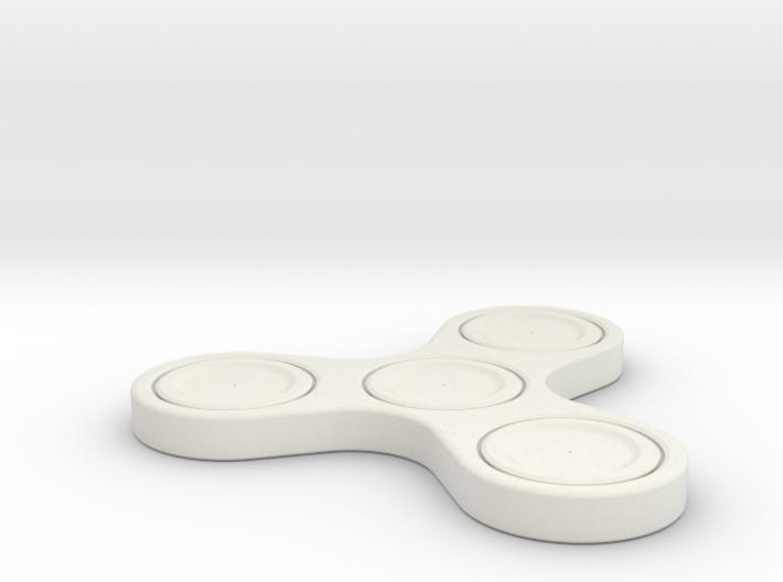 One Piece Fidget Spinner 3d printed