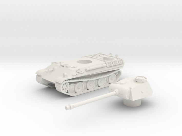 Panther tank (Germany) 1/87 3d printed