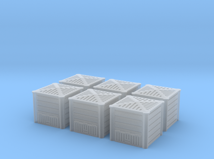 TJ-H01128x6 - Composteurs en plastique 3d printed