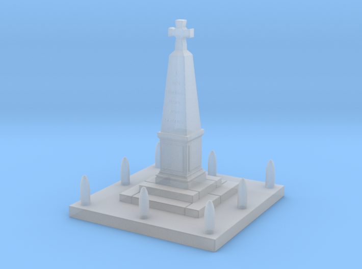 TJ-H01136 - Monument aux morts 3d printed